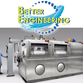 Better Engineering Rotary Drum Washers