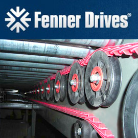 Fenner Drives PowerTwist Belt and PowerMax Pulleys and idlers