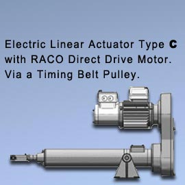 "Acme Screw Type - ""A"" (With Direct Drive Motor)"